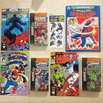 Paquete De Películas Vhs Y Comics De Marvel Americanos 1991