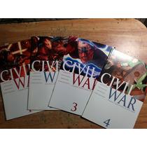 Civil War #1 Al #7 Completa Ingles $1500 Pesos + Envio