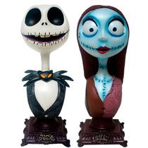 Busto De Jack Y Sally Del Pelicula El Extraño Mundo De Jack