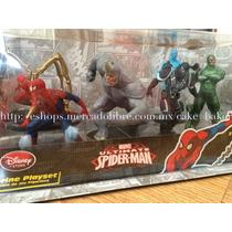Ultimate Spiderman Set De Figuras 6 Pza 10cm Disney Store