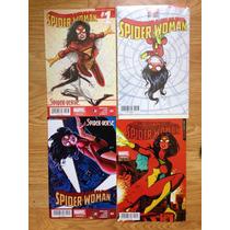 Spider Woman #1 Y 2 Portadas Variantes Y Regular Televisa