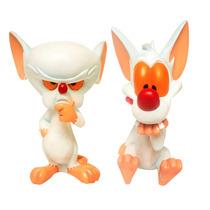 Pinky Y Cerebro Figuras De Coleccion De La Serie Animaniacs