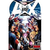 Libro Comic Avengers Vs. X-men Marvel Comics De Coleccion!