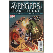 Avengers # 3 Fear Itself - Editorial Televisa
