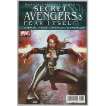Secret Avengers # 3 Fear Itself - Editorial Televisa