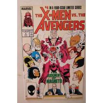 The X-men Vs The Avengers # 4 Marvel Comics 1987 Usa