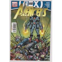The Avengers #21 - Avengers Vs X Men - Editorial Televisa