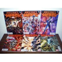 Secret Wars Saga Completa De 9 Numeros Ed. Televisa