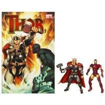 Marvel Comic 2 Paquete Thor Versus Iron Man