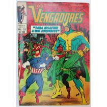 Los Vengadores No. 33 1981 Ed. Novedades Editores