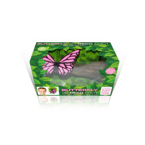 Lampara De Pared En 3d , Mariposa Pink Butterfly Branch