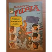 El Sargento Furia # 12 Editorial La Prensa Mexico 1966