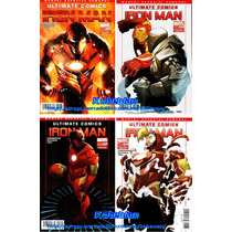 Marvel Comics Ultimate Iron Man Ironman Extremis Ultimate Co