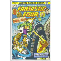 Fantastic Four 167 Hulk Vs Thing Vf