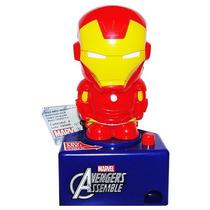 Avengers Mini Dispensador Iron Man Spiderman