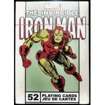 Juego De Cartas De Poker Iron Man De Colección