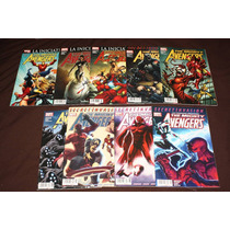 Marvel Comics Mighty Avengers #1-9 Batman Civil War Iron Man