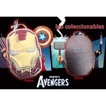 Dije Placa Casco Ironman Marvel The Avengers Envió Igo!
