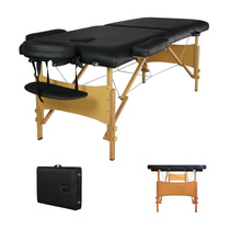 Mesa Para Masaje Portatil Black Portable Massage T1 84
