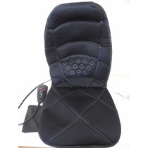 Silla Asiento Respaldo Masajeador Espalda Vibracion D763