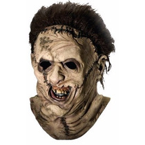 Mascara Leatherface Masacre En Texas Deluxe. Halloween