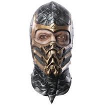 Mascara De Scorpion Mortal Kombat Para Adultos, Envio Gratis
