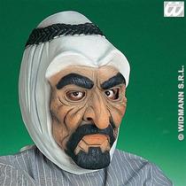Traje Árabe - Caucho Sheik Talibanes Líder Mascarilla Fant