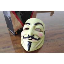 Máscara V De Venganza, Anonymous Original De Lujo