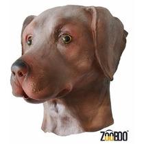 Mascara De Perro Labrador Chocolate De Lujo Original Adulto