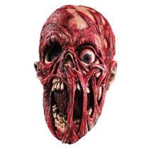 Mascara De Vinil Cadaver Gritando. Disfraz Halloween