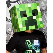 Mascara De Minecraft Creeper Para Adultos Envio Gratis