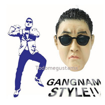 Máscara Gangnam Style Psy Disfraz Halloween Latex