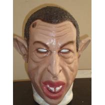 Máscara Hugo Chávez.