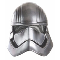 Mascara Capitan Phasma Star Wars Medio Casco Para Niños