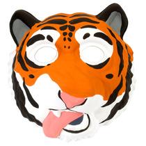 Máscara De Tigre - Wild Republic Griminals Eva Childrens An