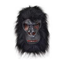 Gorila De Vestuario - Transparencia Goma Piel Mascarilla Fan