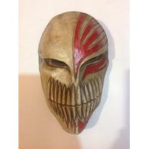 Máscara Fibra De Vidrio, Ichigo, Bleach, Halloween, Cosplay