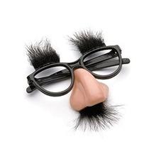 Pertrechos Nariz Fuzzy Y Vidrios Clásico Disfraz