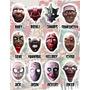 Mascara Halloween , Fibra De Vidrio, Slipknot, Disfraz,