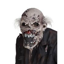 Mascara Zombi Con Boca Movil P/ Halloween Disfraz