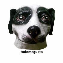 Cabeza De Perro Mascara Disfraz Halloween Latex