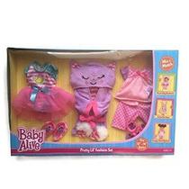 Baby Alive 3 Pack Trajes One Size - Pretty Lil Fashion Set