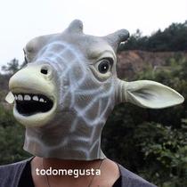 Máscara De Jirafa Disfraz Halloween