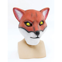 Fox Traje - Sr. Foxy Látex De Caucho Máscara Overhead Fant
