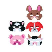 Máscara Animal - Corral Granja Espuma Máscaras Del Vestido