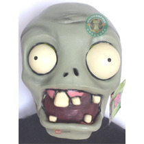 Mascara Plantas Contra Zombies De Latex Juvenil Halloween