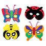 Máscara Animal - Insectos Espuma Del Vestido De Lujo Del Tr