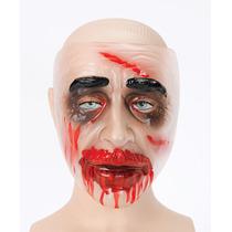 Máscara De Zombie - Varón Adulto De Plástico Transparente