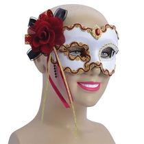 Masquerade Costume - Balón De Oro Blanco Camiseta Rosa Roja