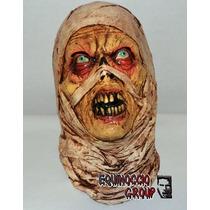 Mascara Terror Momia Dia Muertos Halloween Miedo